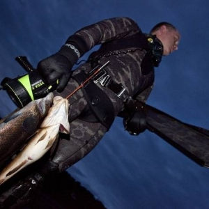Night Spearfishing / Norway