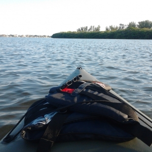 Kayaking the intercoastal