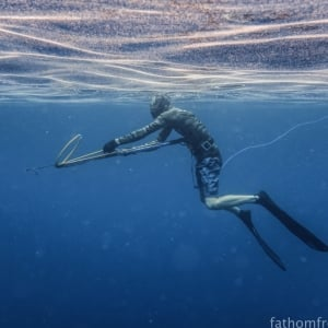 Freediving in Bali with fathomfreedive.com